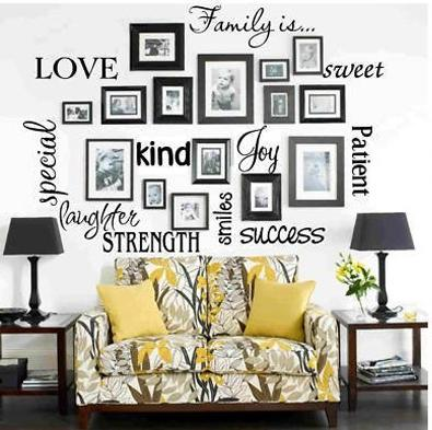 Мысли на виду! (или 60 идей декора стен с помощью слов, букв и цифр), фото № 57