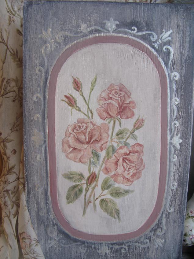 роспись мебели, рисунок