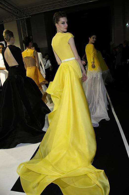 Stephane Rolland Haute Couture весна-лето 2014, фото № 59