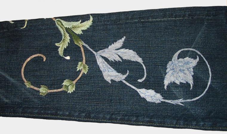 вышивка, перевод рисунка на ткань, рисунок на ткани