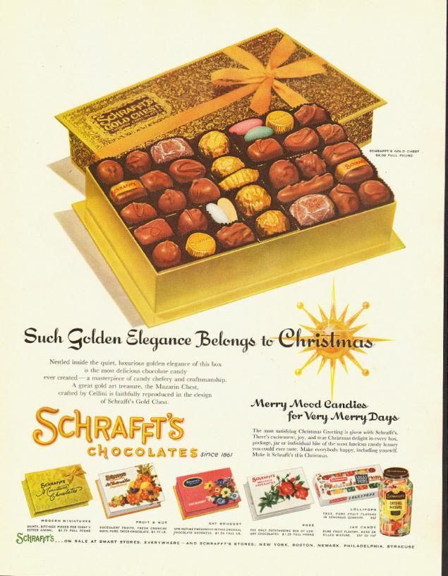 Новогодняя реклама Vintage/1951 -1956 включительно, фото № 49