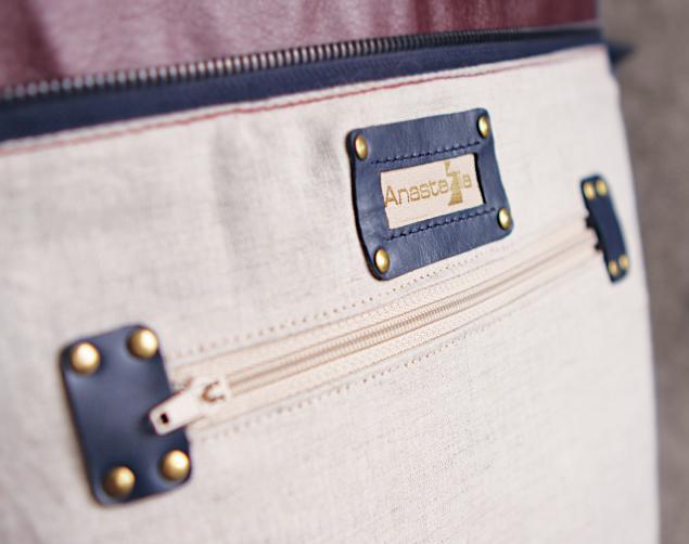 сумка из натуральной кожи, большая сумка