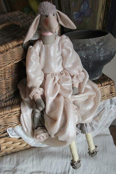 ретро, шитьё кукол