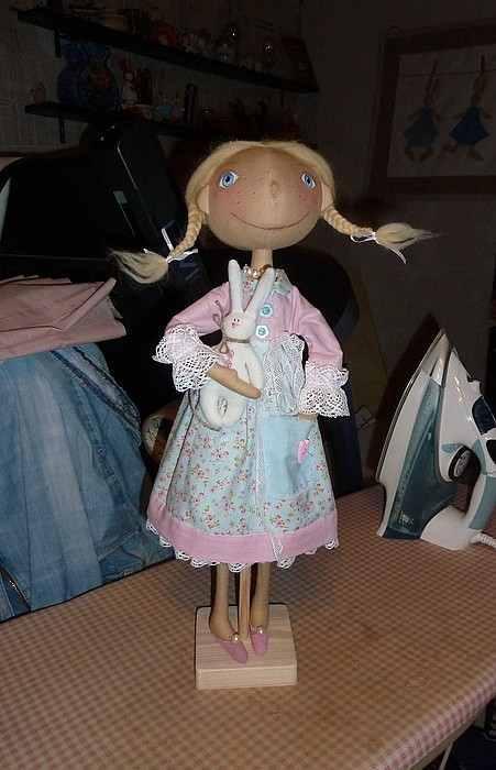 тыковка, подарок, интерьрная кукла