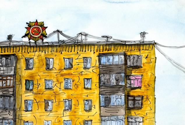 Путешествуем с Михаилом Щербаковым (Vokabre): быстрые зарисовки акварелью, фото № 22