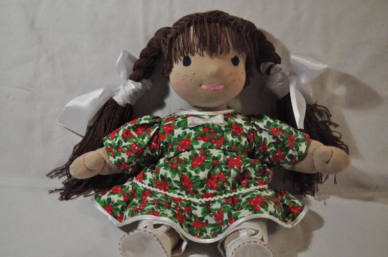 изготовление куклы, волосы для кукол