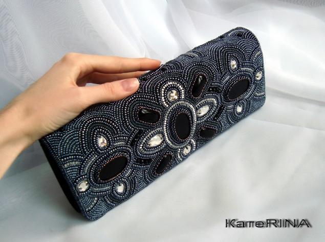 Вышивка бисером клатчи своими руками