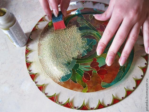 Воплощаем модерн в росписи по стеклу., фото № 22