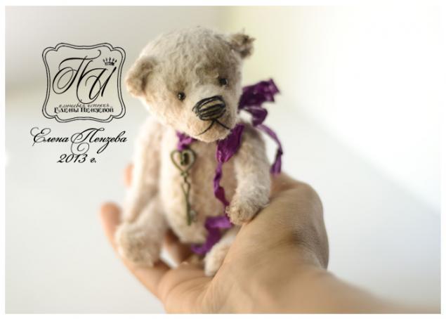 выкройка, тедди, медвежонок, мишка, медведь, миниатюрный, антик, винтаж