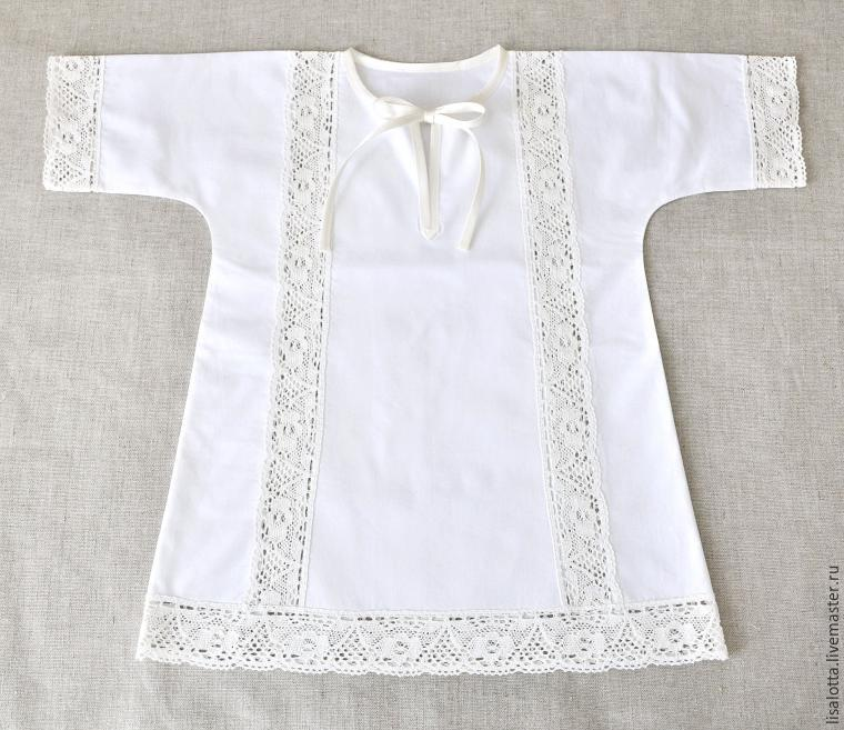 Крестильная рубашка для мальчика сшить своими руками