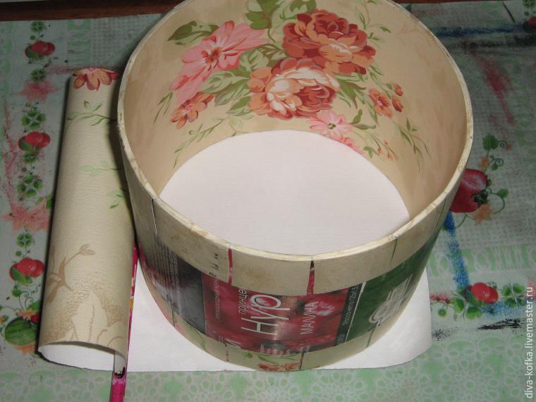 Как сделать круглую коробочку для цветов своими руками 56