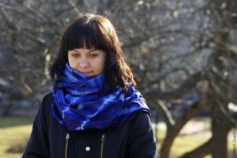 синий, текстиль, бартошевич екатерина