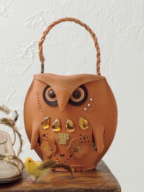 Anna Sui Owl Handbag