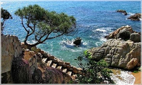 лето, море, испания, праздник