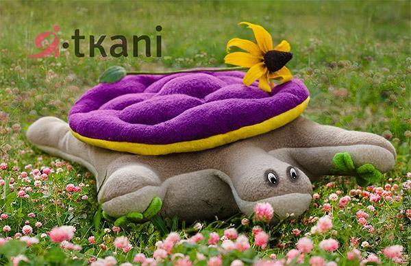 Подушка черепаха своими руками
