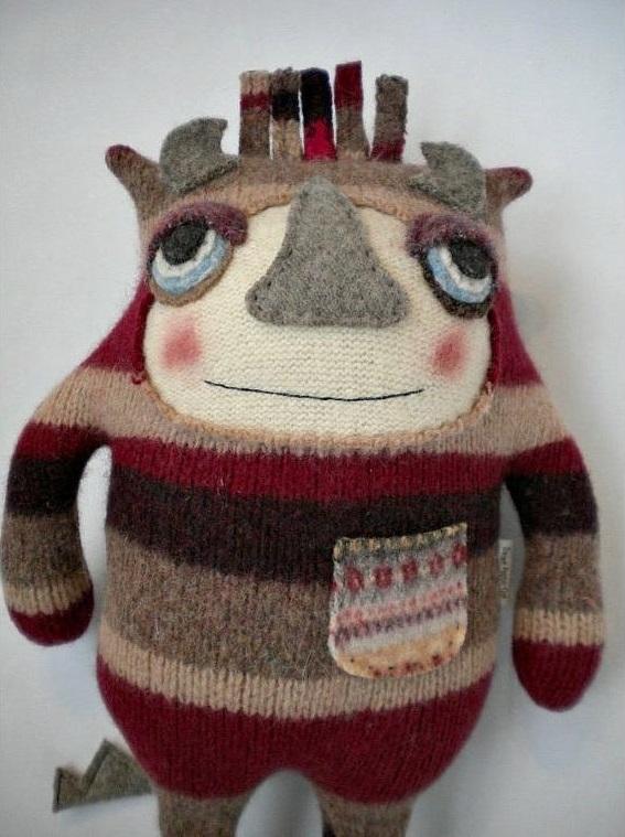 игрушка из свитера