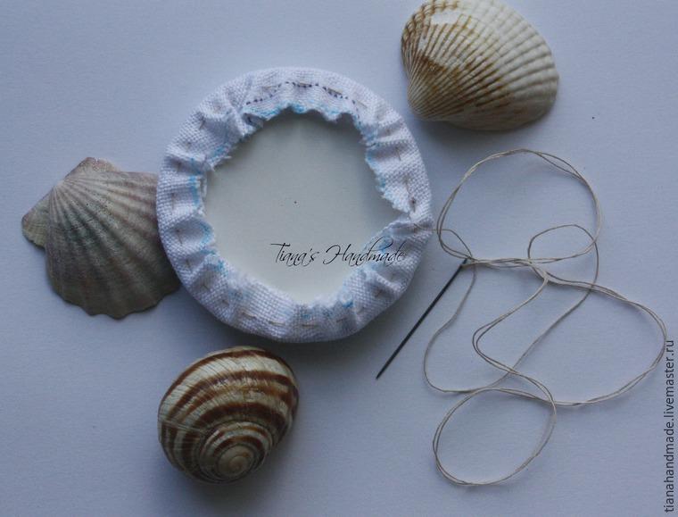Как сделать кулоны с вышивкой