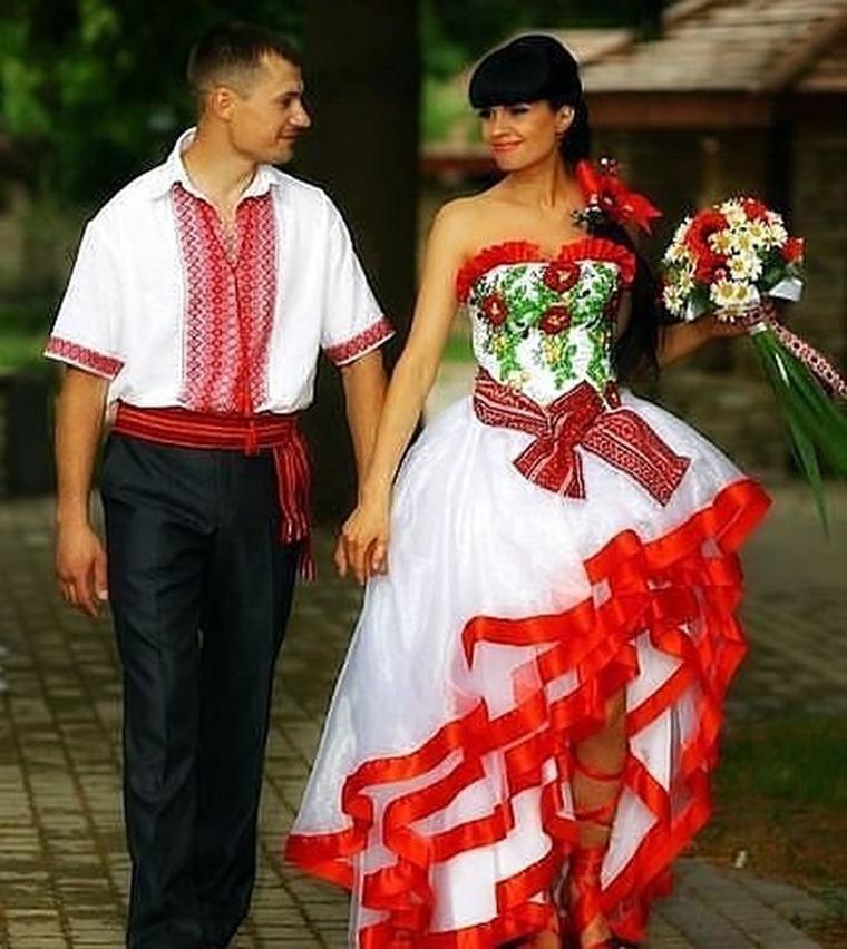 Украинская вышиванка платье