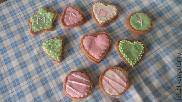 Печенье своими руками формы