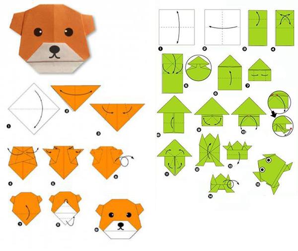 мокрое оригами