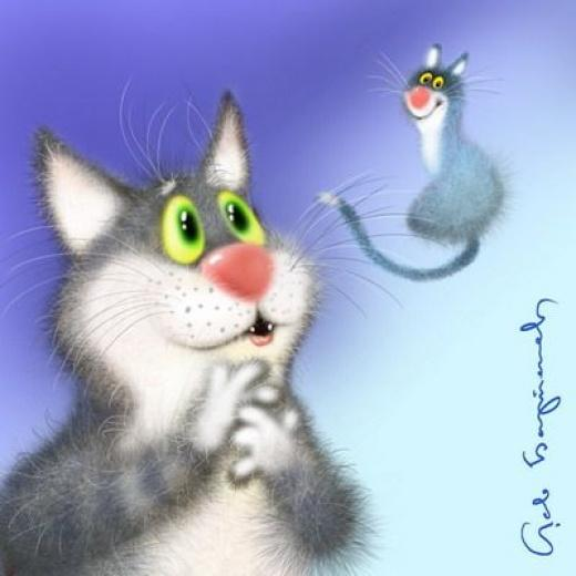 Смешная открытка к дню кошки, красотуля открытка прикольные
