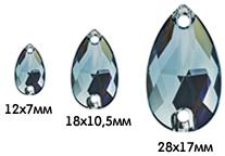 размер Drop Sew-onSwarovski 3230