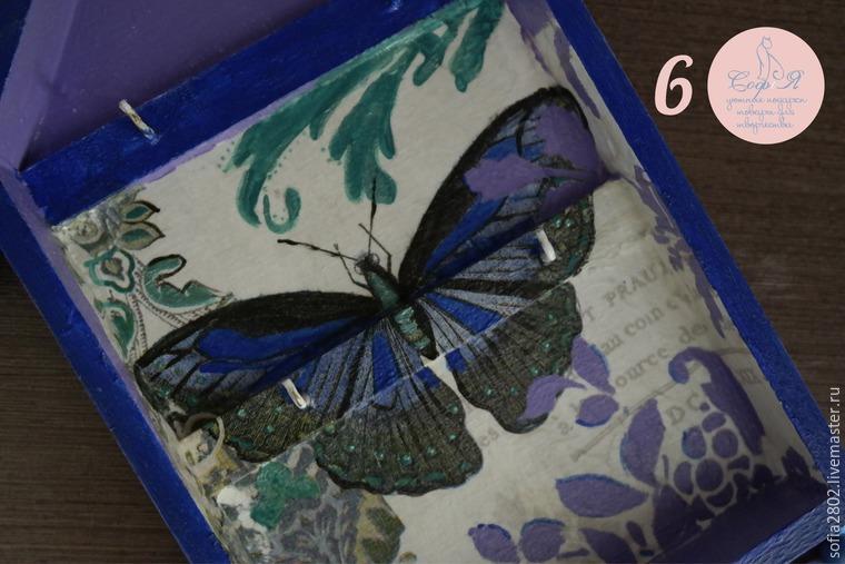 декор дома, бабочка