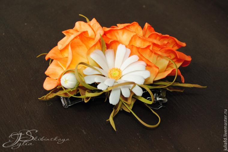 цветы из фоамирана, фоамиран
