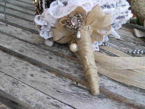 Льняная свадьба. Идеи для вдохновения, фото № 65