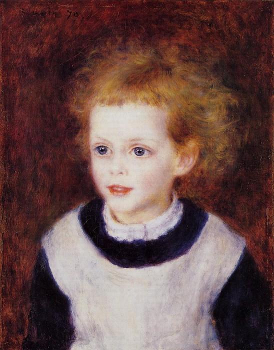 Пьер Огюст Ренуар - Margot Berard – 1879