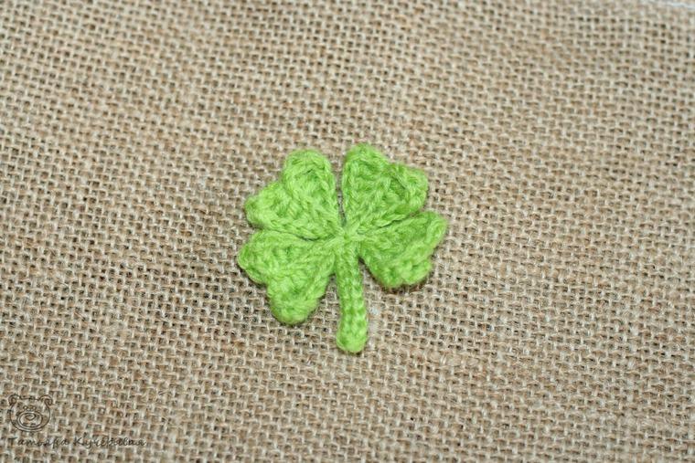 Crochetting a Four Leaf Clover, фото № 16