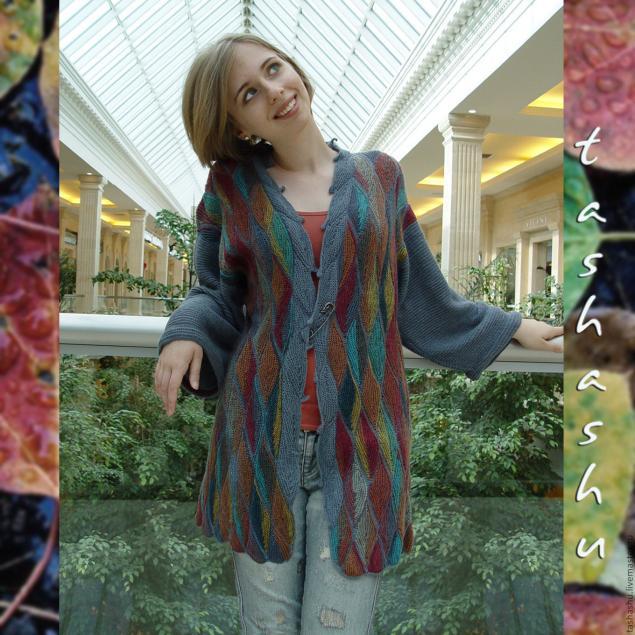 秋天的叶子 (针织拼凑而成).非常漂亮 - yyqun2000 - yyqun2000的博客