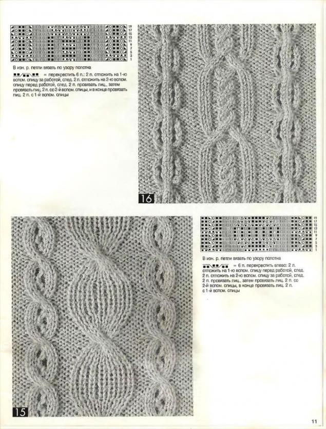 схемы по вязанию