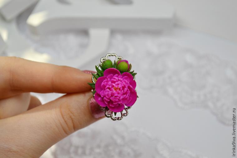 Мастер класс из полимерной глины видео цветы