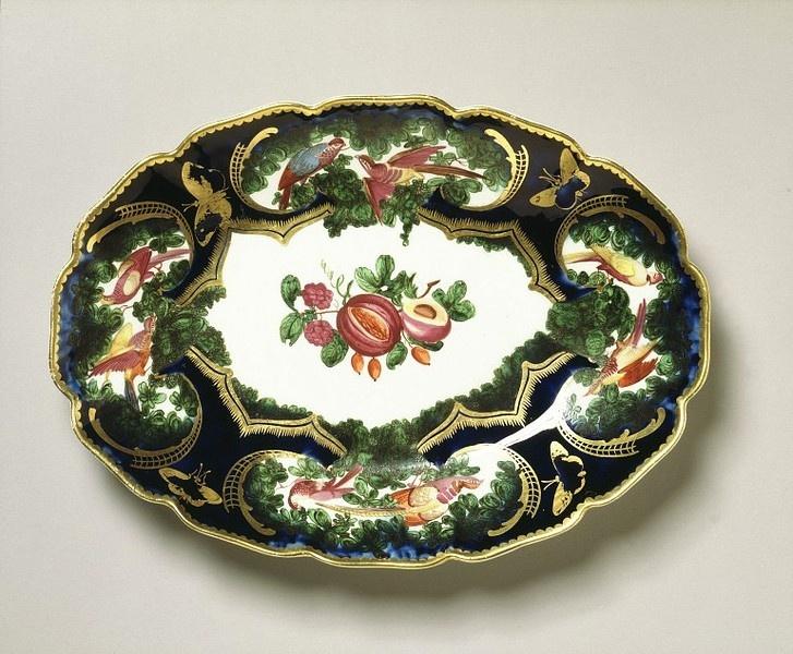 1759-69 Chelsea Porcelain Factory plate