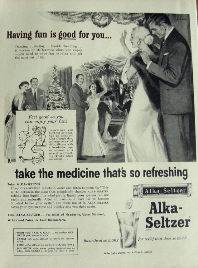 Новогодняя реклама Vintage/1951 -1956 включительно, фото № 39