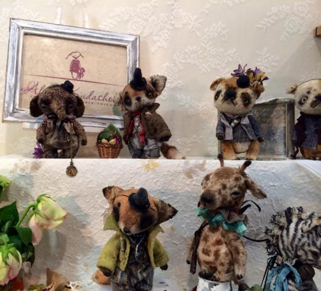 выставка медведей
