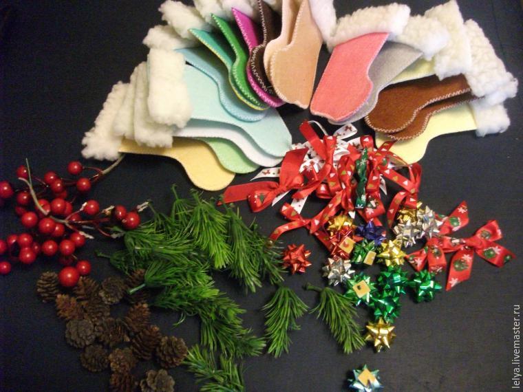 Как делать бантики из ленточек для подарков