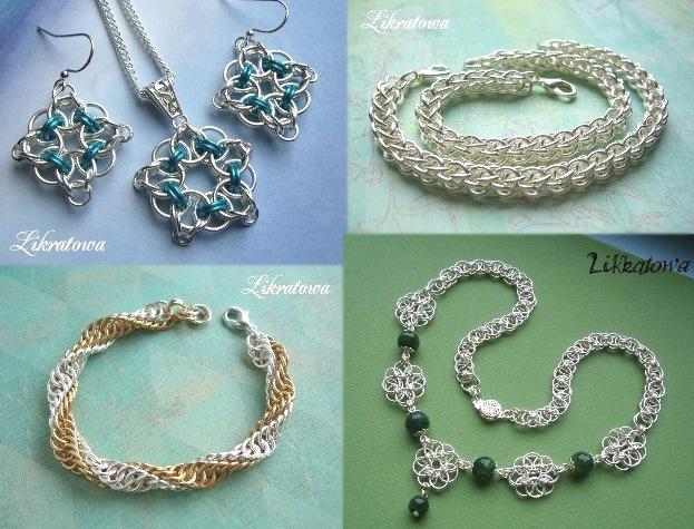 кольчужное плетение, работа с металлом, металл, проволока, цепи, ювелирное дело
