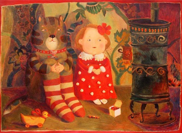Путешествие в детство с белорусской художницей Анной Королёвой, фото № 5