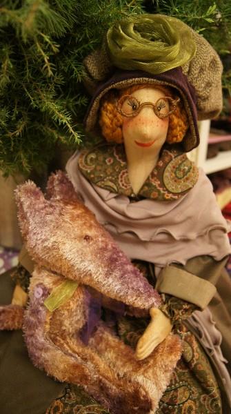 творческая мастерская, шитьё кукол