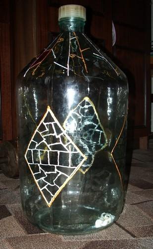 Делаем бутылку-светильник, фото № 6