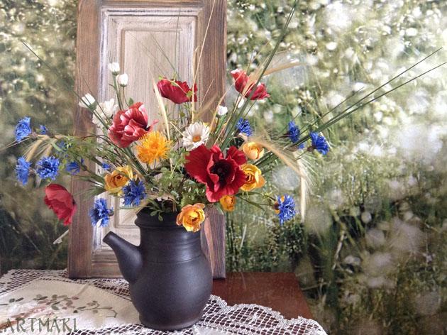 обучение цветоделию, флористика