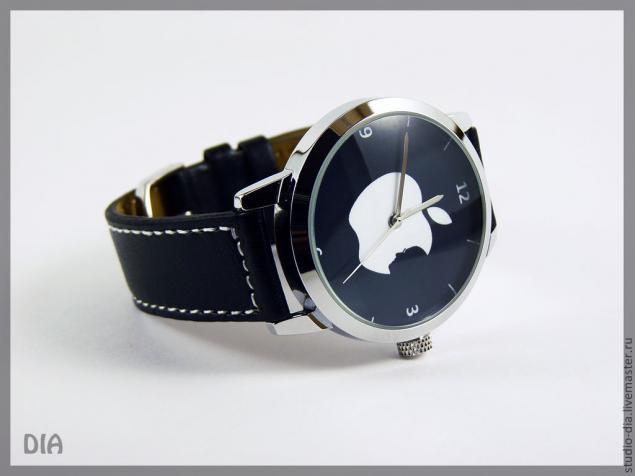 авторкие часы, часы с картинкой