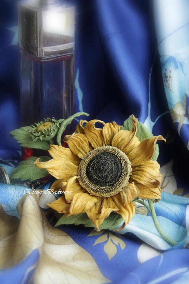 мастер-класс, кожаные цветы, обучение цветы