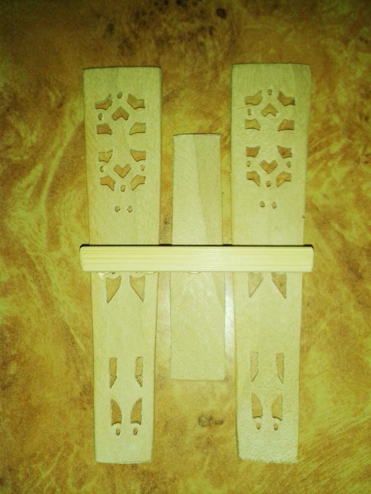 Мастерим декоративный забор с цветочными горшками для мини-садика, фото № 11