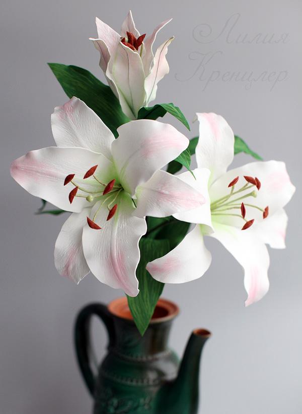 лилия, лилия из фоамирана, мастер-класс, мастер-класс в москве, мастер-класс в выходные, мастер-класс флористика, флористика, живой мастер-класс