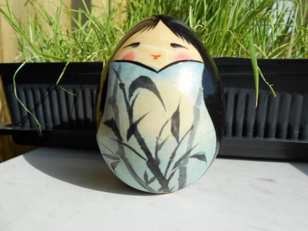 японская кукла, 8 марта, расписной сувенир