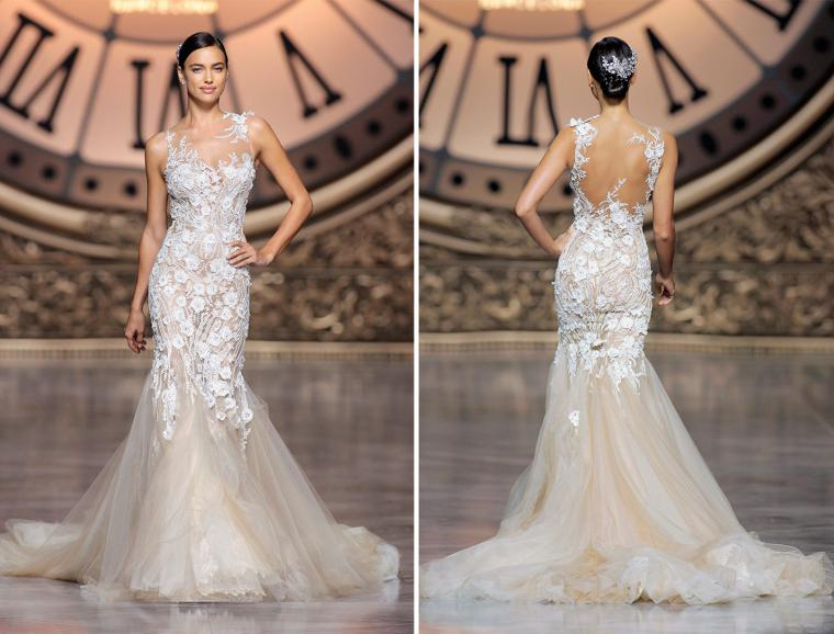 bc633f05f16 Коллекция свадебных платьев Pronovias 2016  45 потрясающих нарядов ...