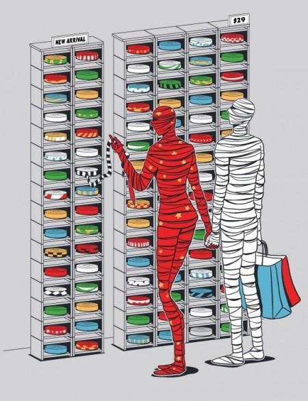 Иллюстрации Чоу Хон Лэма